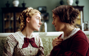 Saoirse Ronan and Kate Winslet in Ammonite.