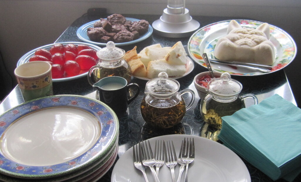 Some of the desserts from my same Easter Afternoon Tea.  Photo by Lucia Singer.