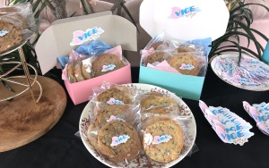 The visuals are as beautiful as the cookies are delicious!  Photo by Karen Salkin.