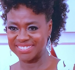 Viola Davis. Photo by Karen Salkin, (off the TV screen.)