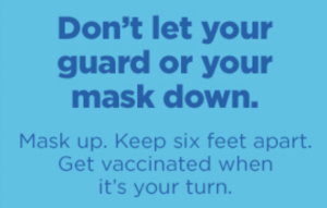 And keep washing/disinfecting your hands!