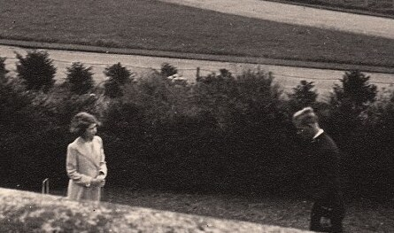 I love this picture!  Very young future-Queen Elizabeth and future-Prince Philip meeting for the first time!