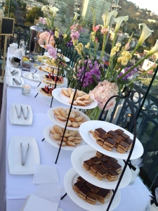 The dessert portion of a very big tea party I attended at a swanky hotel.  Photo by Karen Salkin.