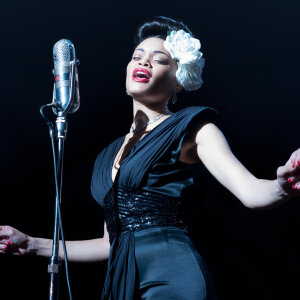 Andra Day ably channeling Billie Holiday.