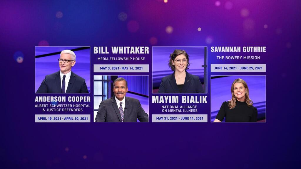 Some of the Jeopardy guest hosts this seaosn.