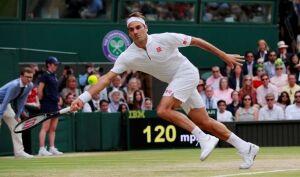 Roger Federer's beautiful tennis.