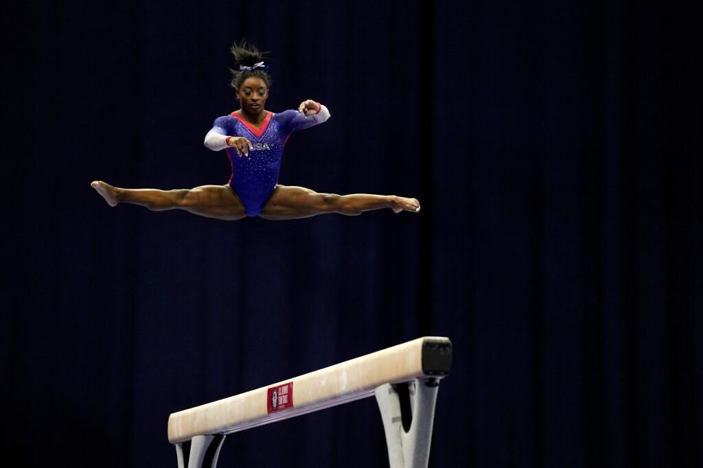 The amazing Simone Biles!